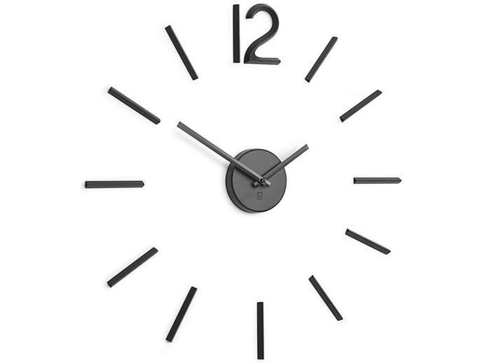 Zegar ścienny, czarny, Blink - zdjęcie nr 0