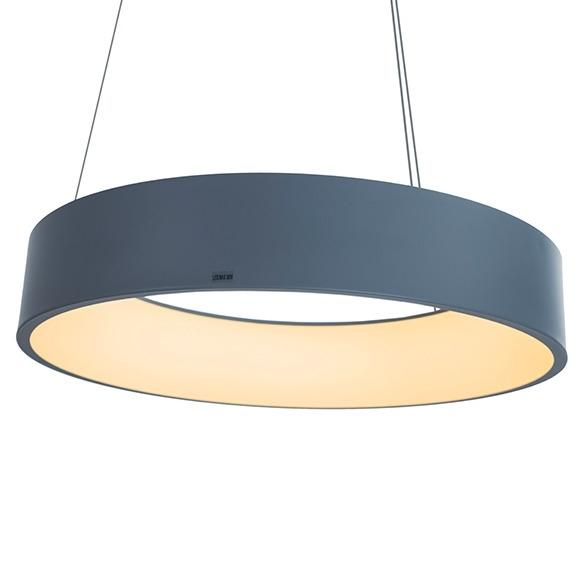 Závěsné LED svítidlo SMD 3 šedé