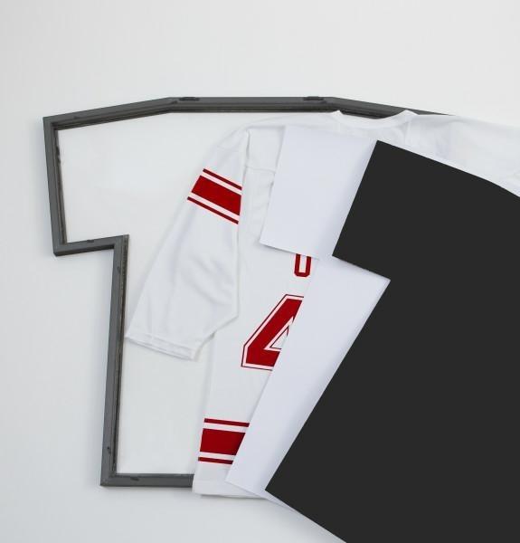 Ramka na t-shirt, T-FRAME M czarna - zdjęcie nr 6