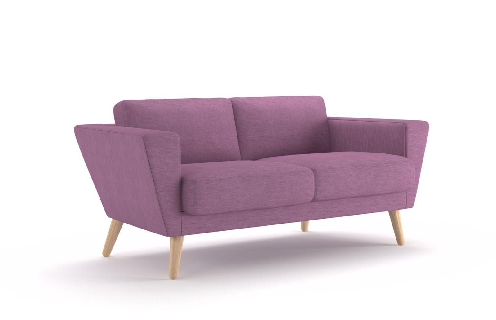 Sofa Atla 150cm fioletowa jasna - zdjęcie nr 0