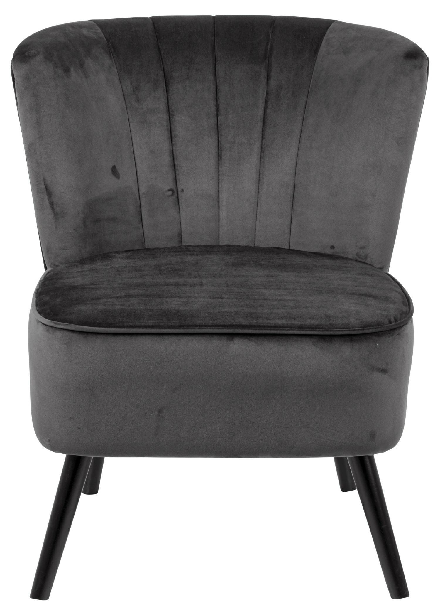 Fotel Lark VIC ciemny szary - zdjęcie nr 2