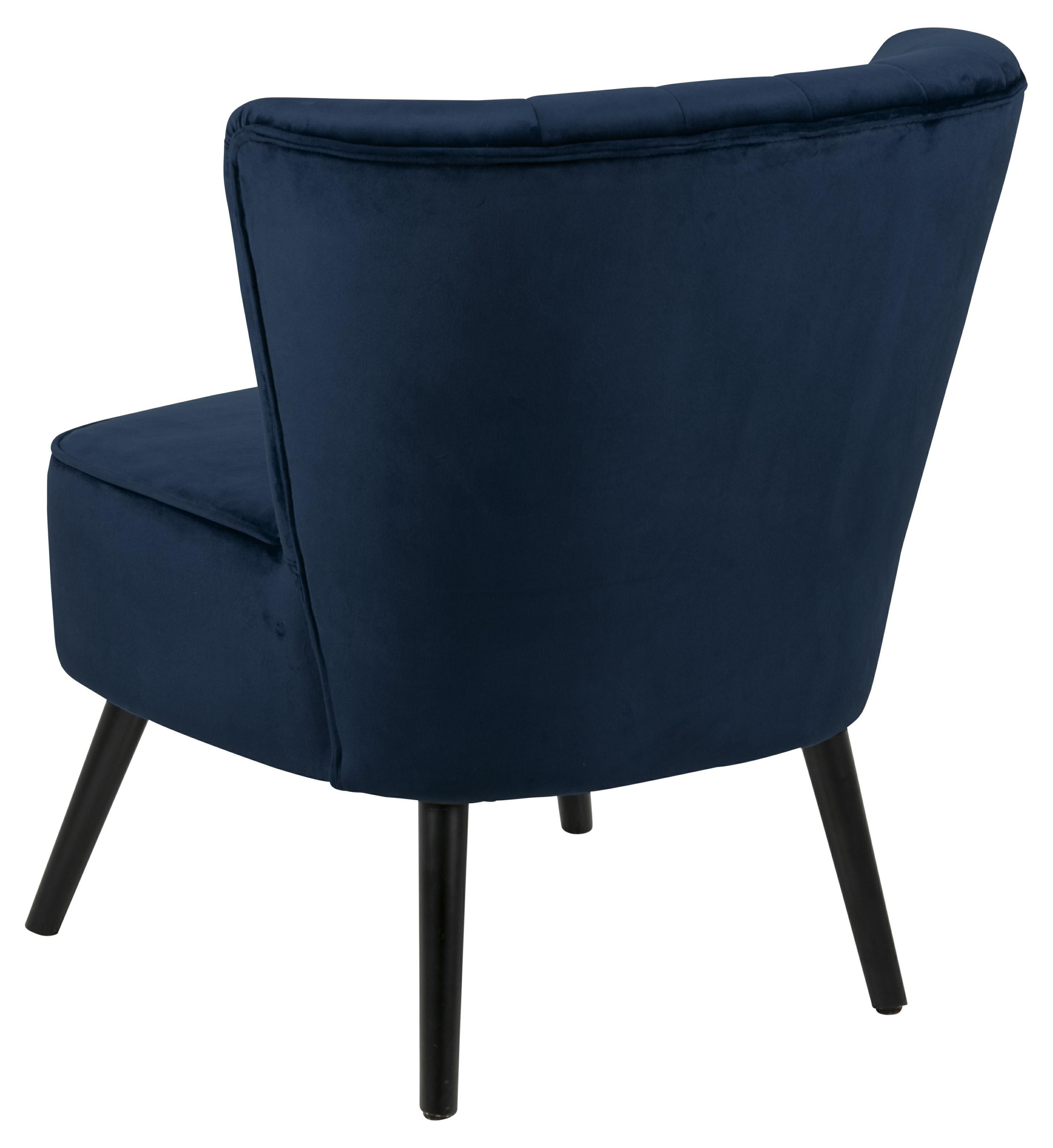 Fotel Lark VIC ciemny niebieski - zdjęcie nr 2