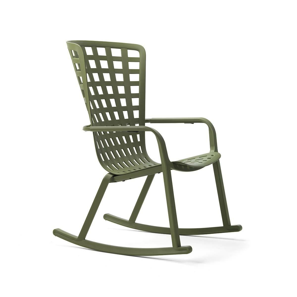 Fotel bujany z podłokietnikami Folio zie lony - zdjęcie nr 0