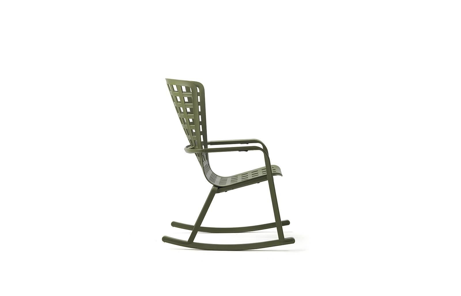 Fotel bujany z podłokietnikami Folio zie lony - zdjęcie nr 3