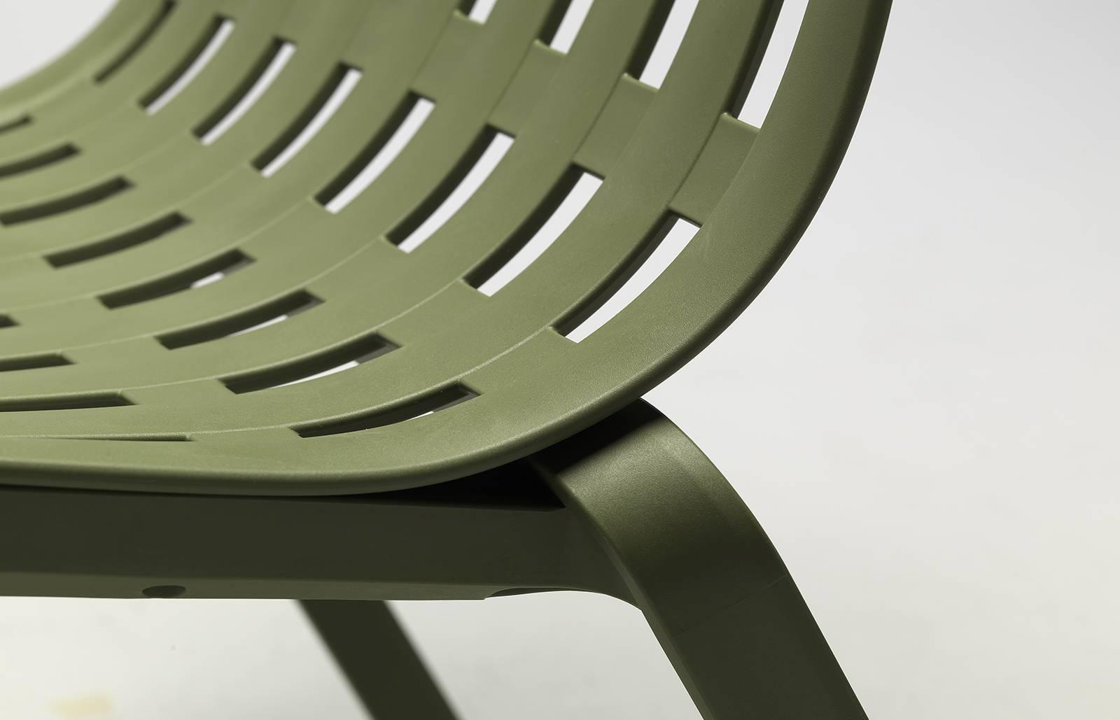 Fotel bujany z podłokietnikami Folio zie lony - zdjęcie nr 8
