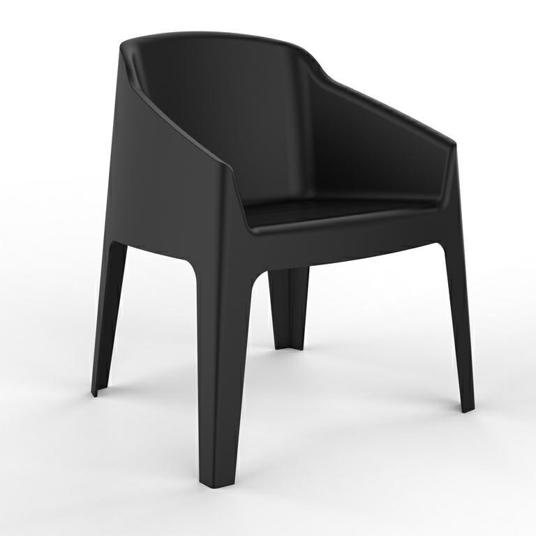 Fotel Baku czarny - zdjęcie nr 0
