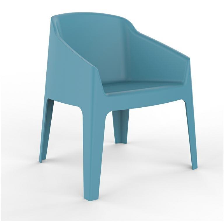 Fotel Baku niebieski - zdjęcie nr 0