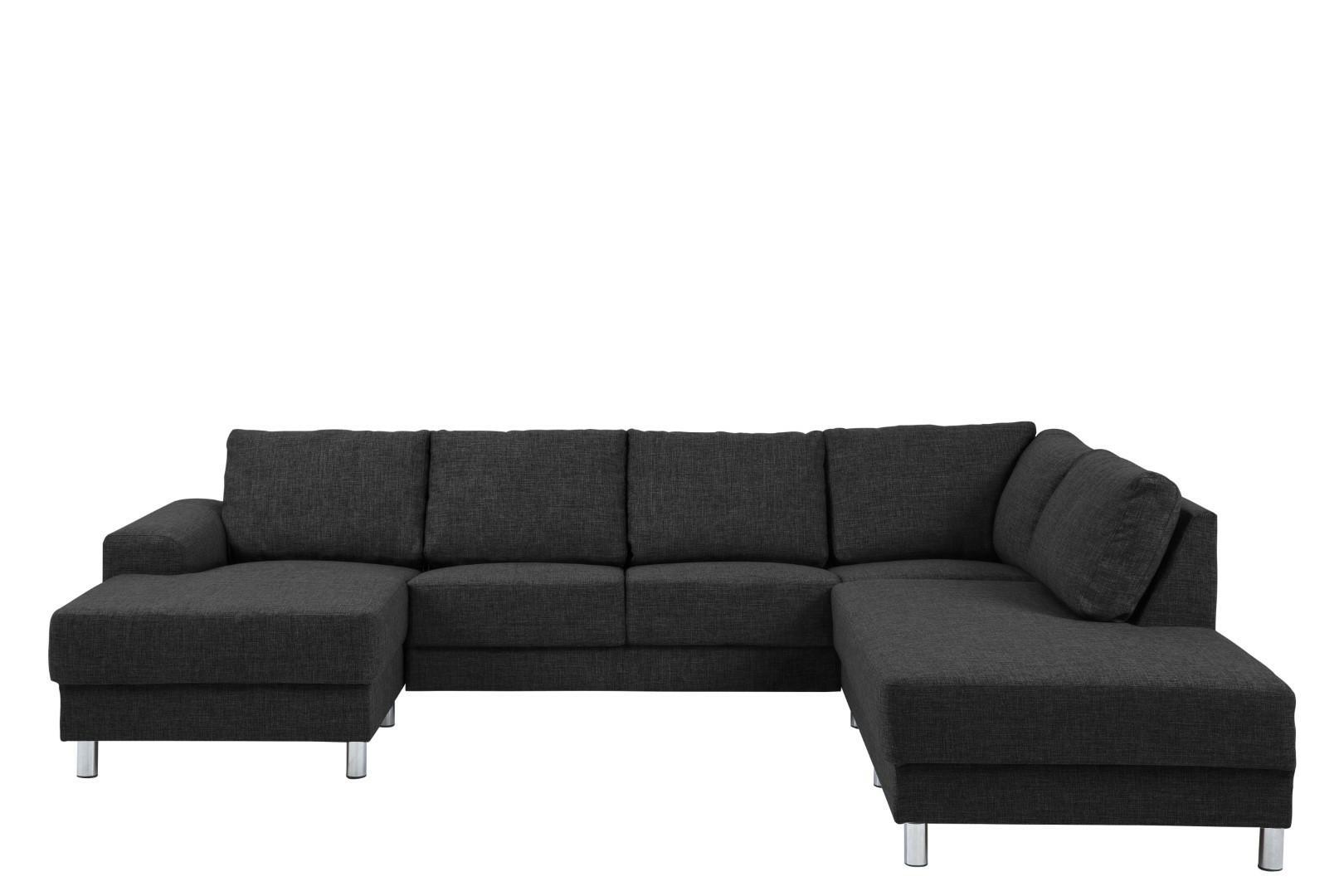 Narożna sofa Calverton Antracyt prawa - zdjęcie nr 0