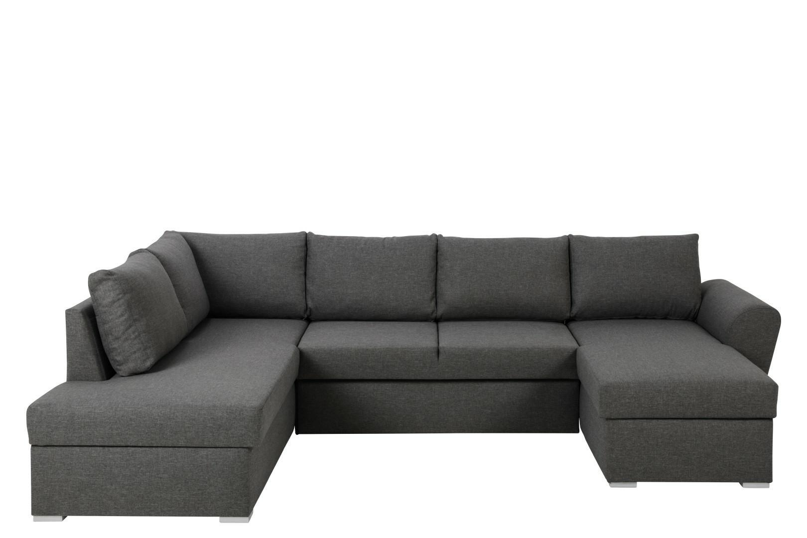 Narożna sofa Stanford Lux  rozkładana Sz ara lewa - zdjęcie nr 0
