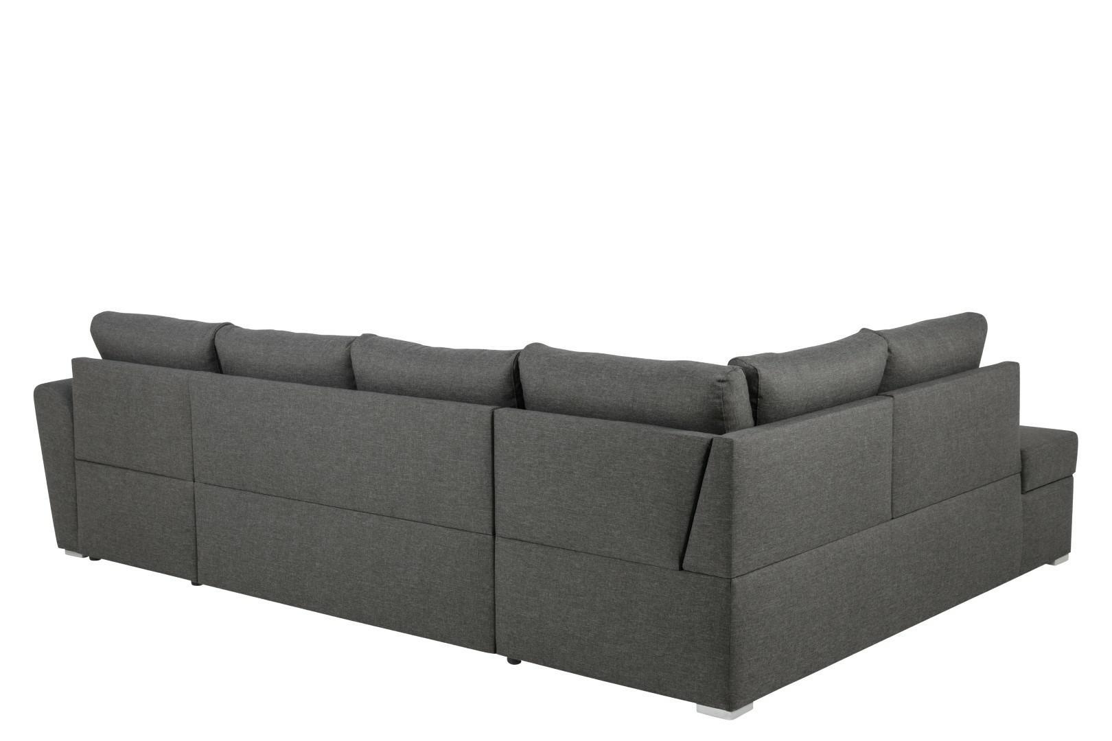 Narożna sofa Stanford Lux  rozkładana Sz ara lewa - zdjęcie nr 3
