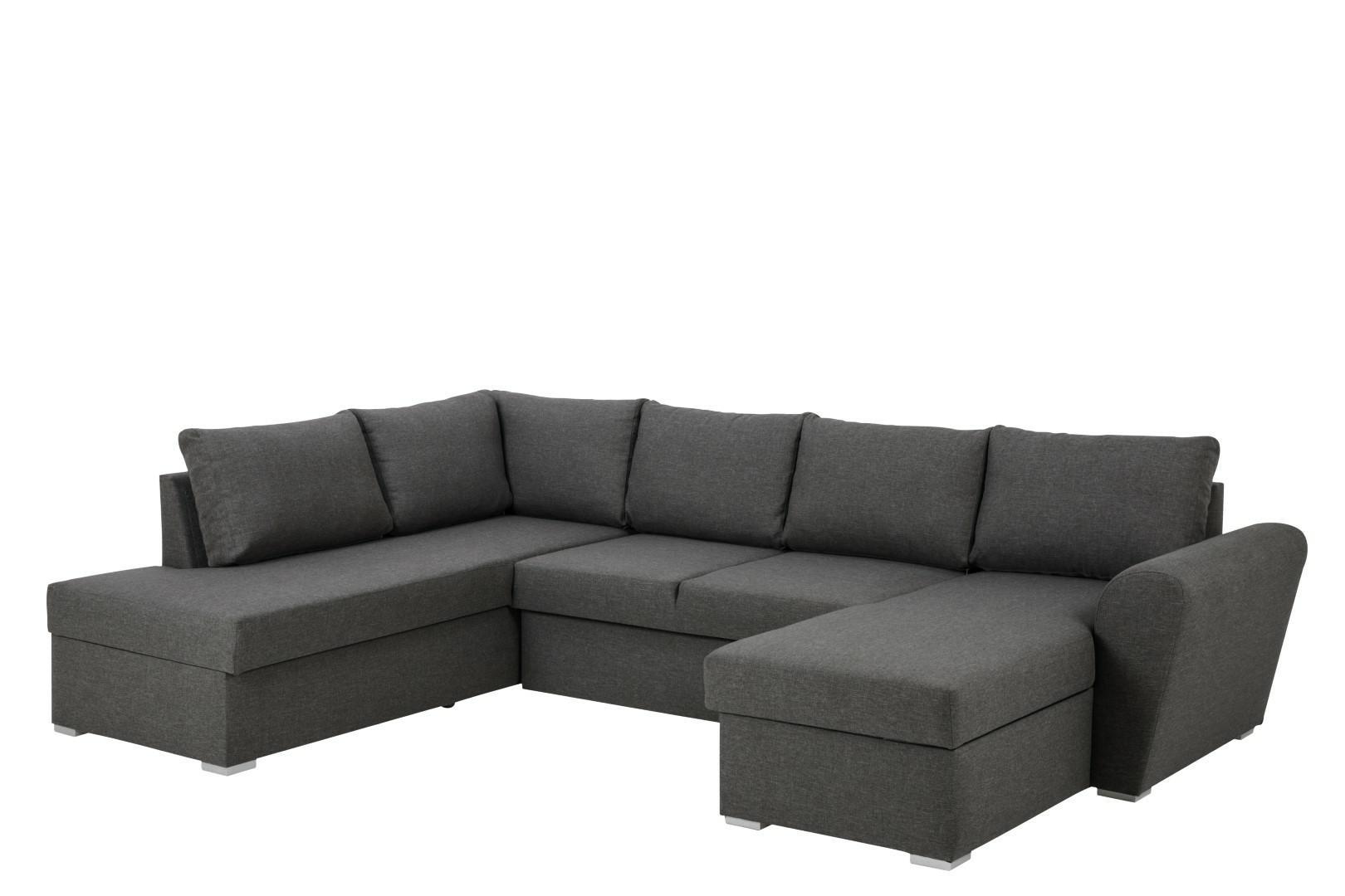 Narożna sofa Stanford Lux  rozkładana Sz ara lewa - zdjęcie nr 1