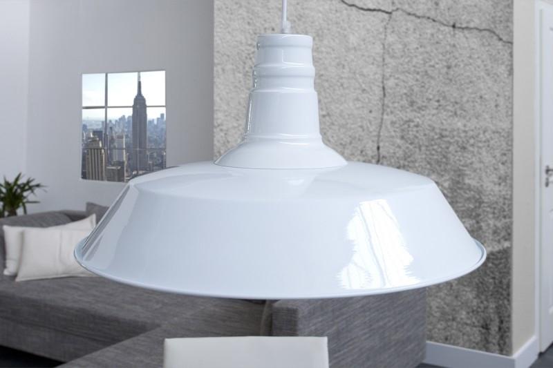 Lampa wisząca Lucia biała - zdjęcie nr 1