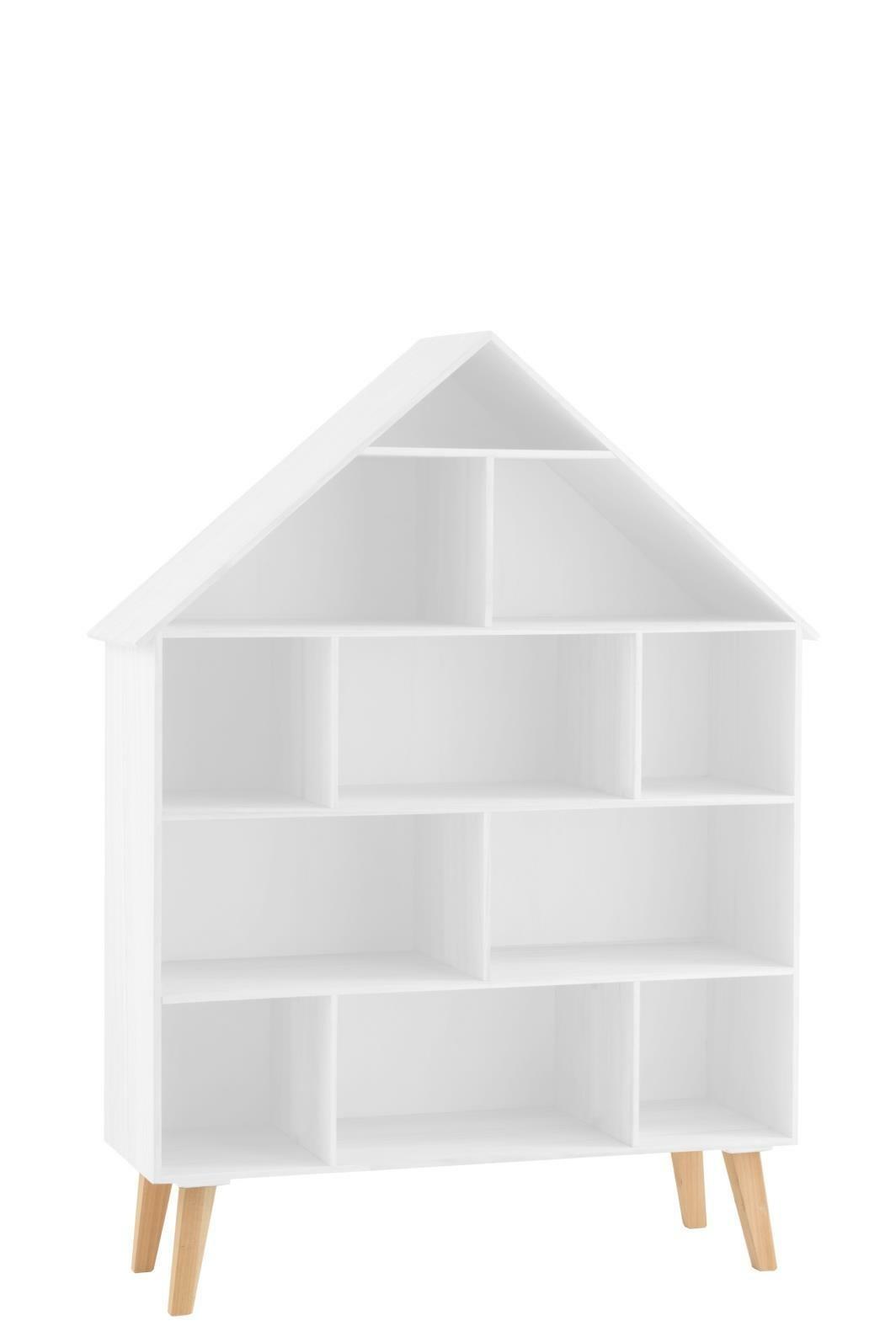Półka Dom Casa Na Stópach biała - zdjęcie nr 0
