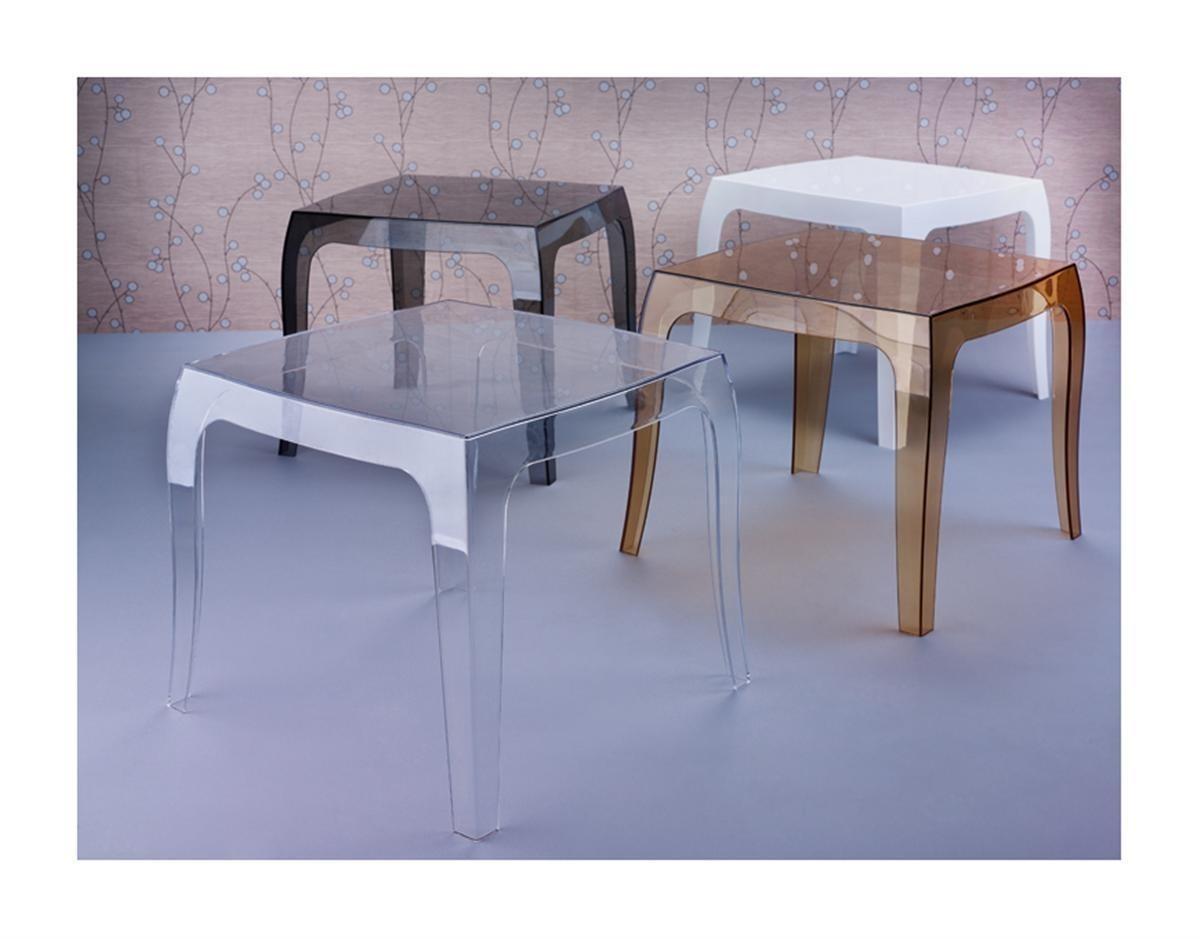 Konferenční stolek Duch transparentní