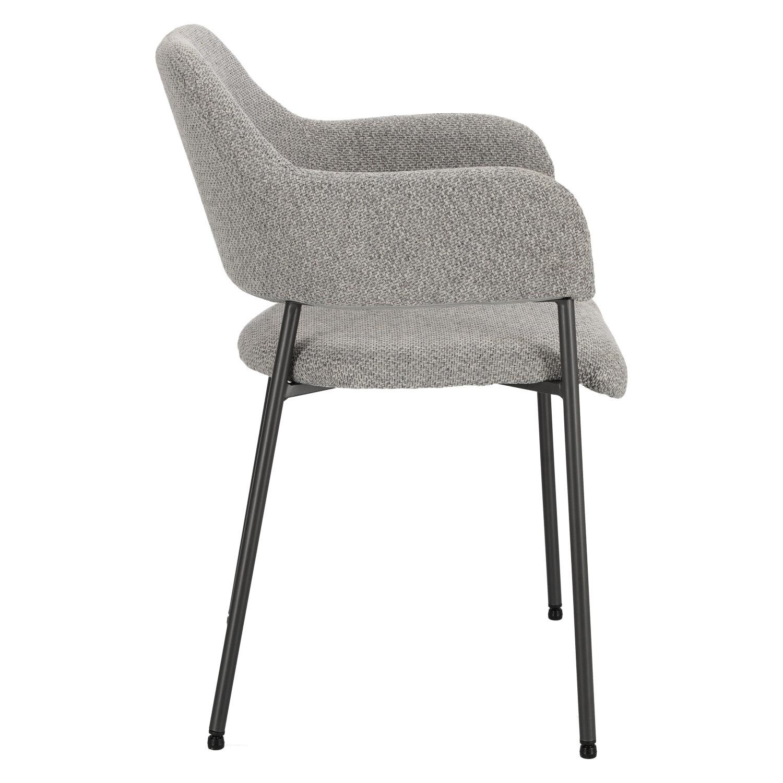 Krzesło Gato jasnoszare - zdjęcie nr 2