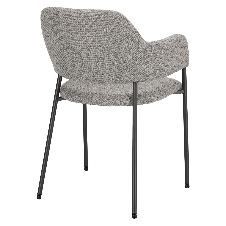 Krzesło Gato jasnoszare - zdjęcie nr 4