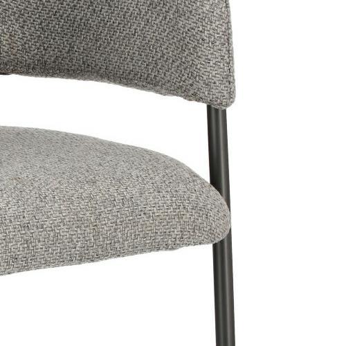 Krzesło Gato jasnoszare - zdjęcie nr 9
