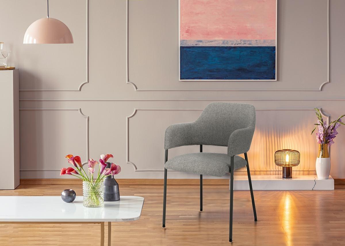 Krzesło Gato jasnoszare - zdjęcie nr 11