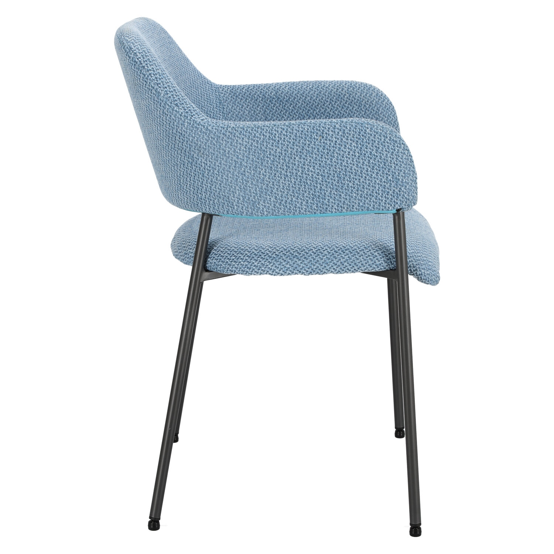 Krzesło Gato niebieskie - zdjęcie nr 2