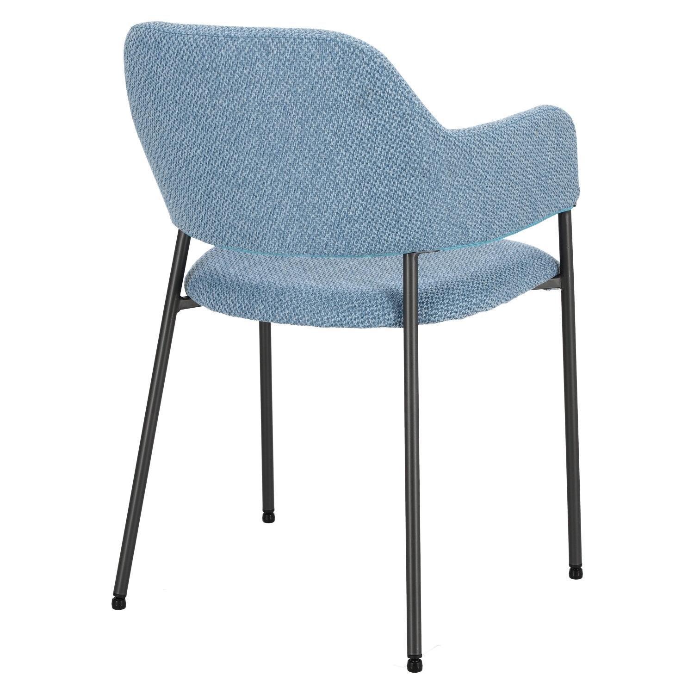 Krzesło Gato niebieskie - zdjęcie nr 4