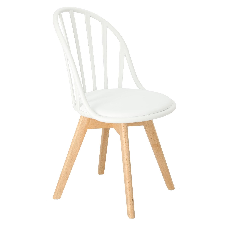 Krzesło Sirena białe - zdjęcie nr 1