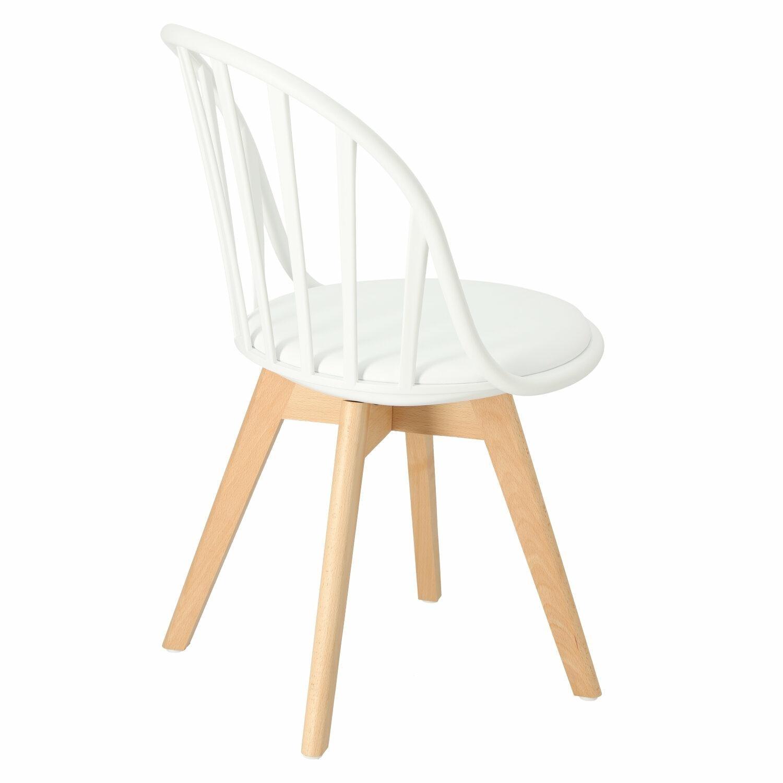 Krzesło Sirena białe - zdjęcie nr 3