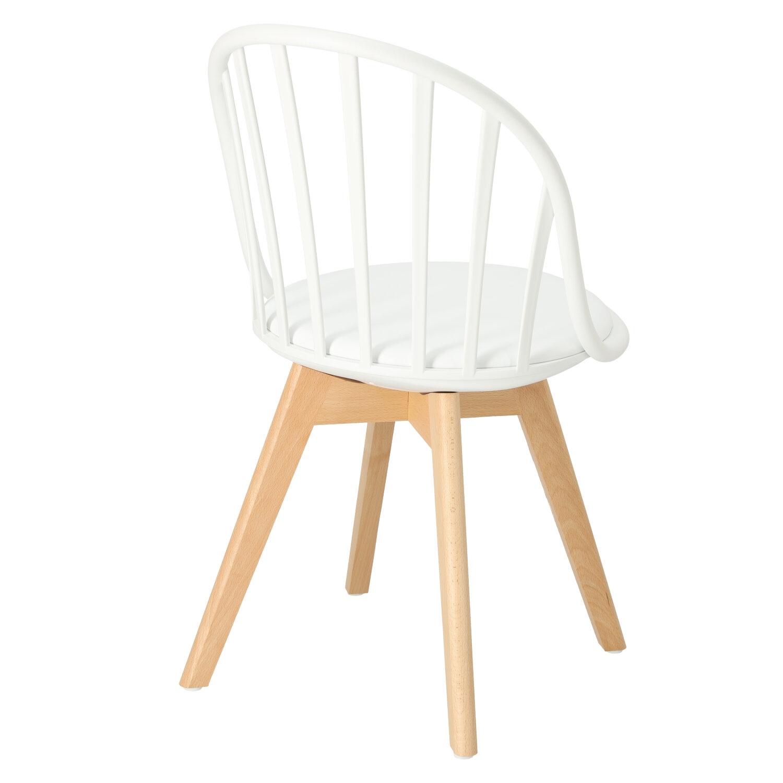 Krzesło Sirena białe - zdjęcie nr 4
