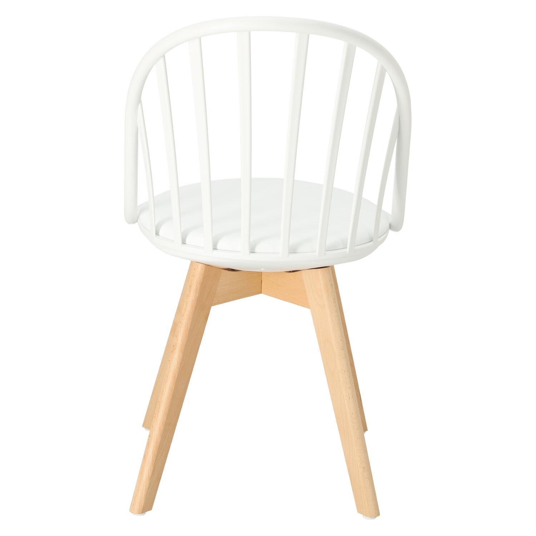 Krzesło Sirena białe - zdjęcie nr 5