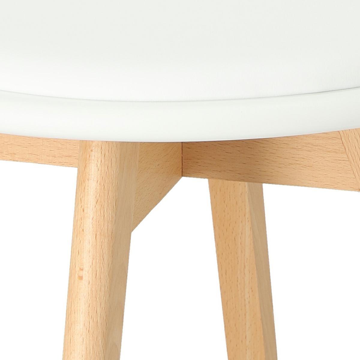 Krzesło Sirena białe - zdjęcie nr 10