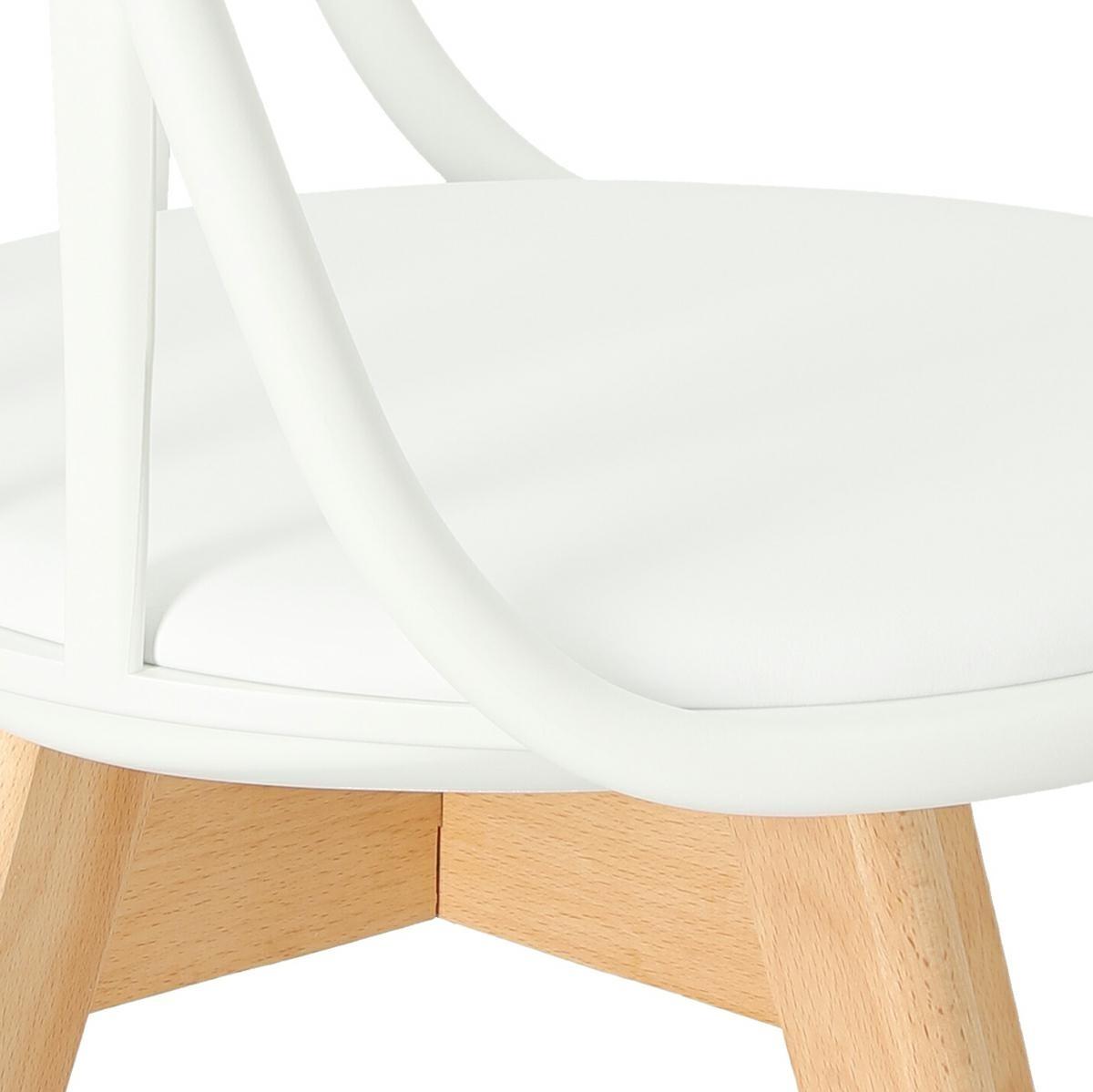 Krzesło Sirena białe - zdjęcie nr 11