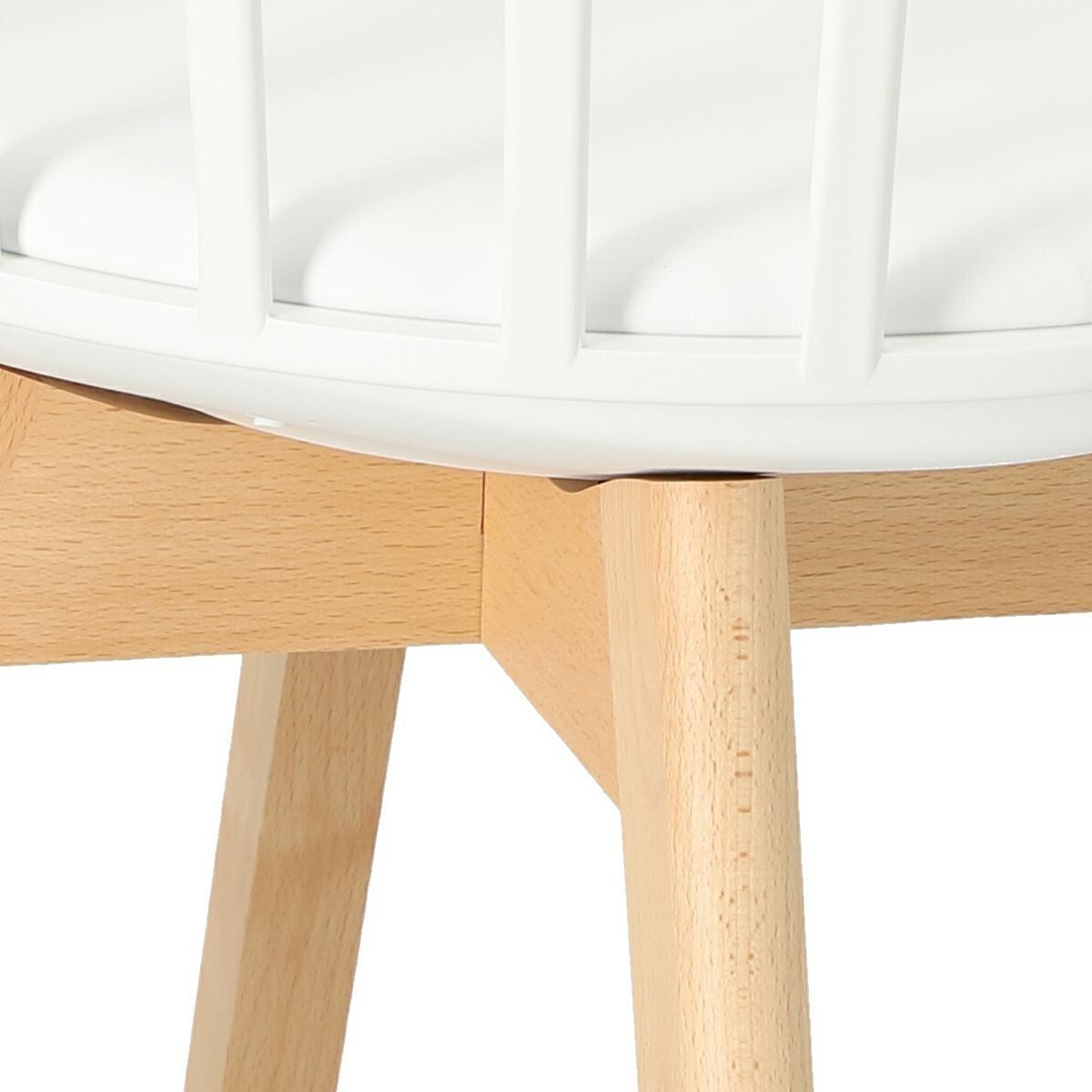 Krzesło Sirena białe - zdjęcie nr 13