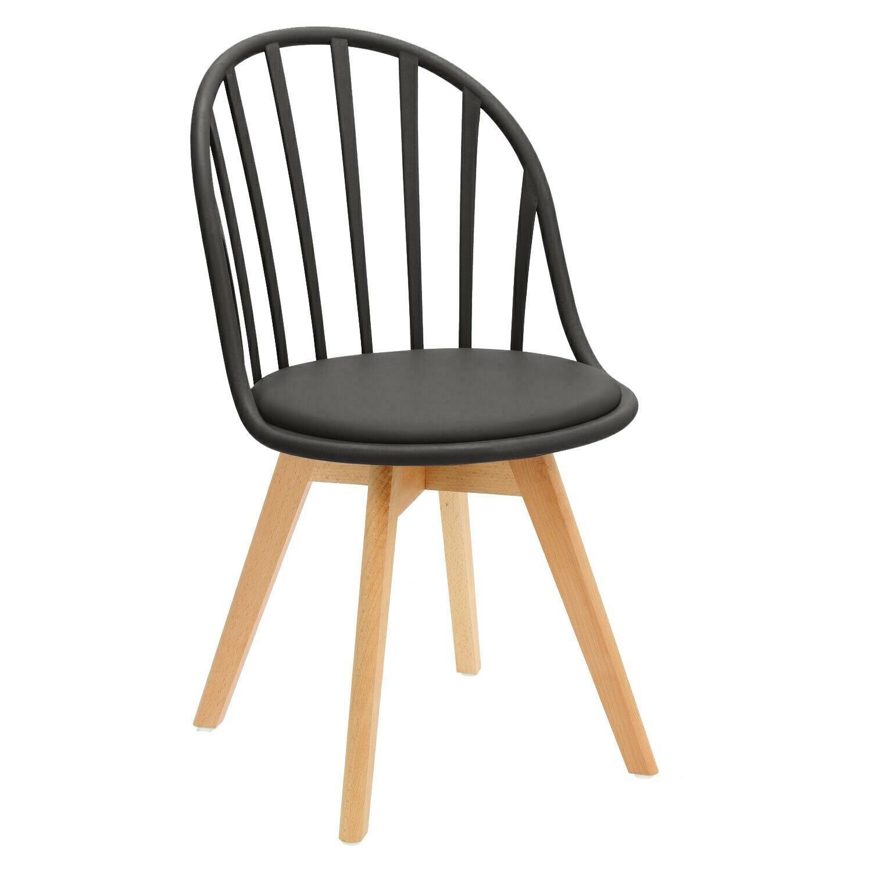 Krzesło Sirena czarne - zdjęcie nr 0