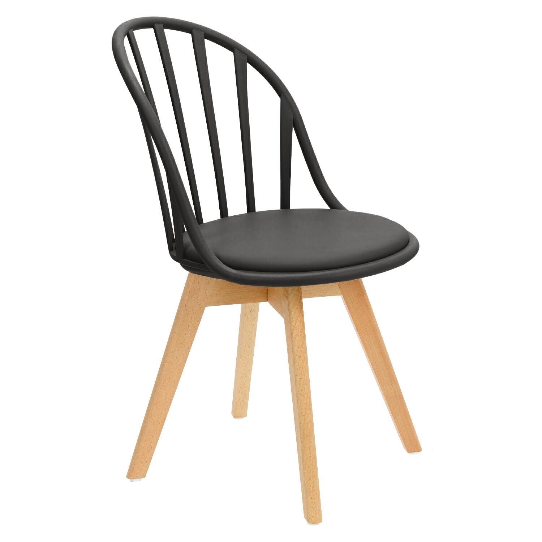 Krzesło Sirena czarne - zdjęcie nr 1