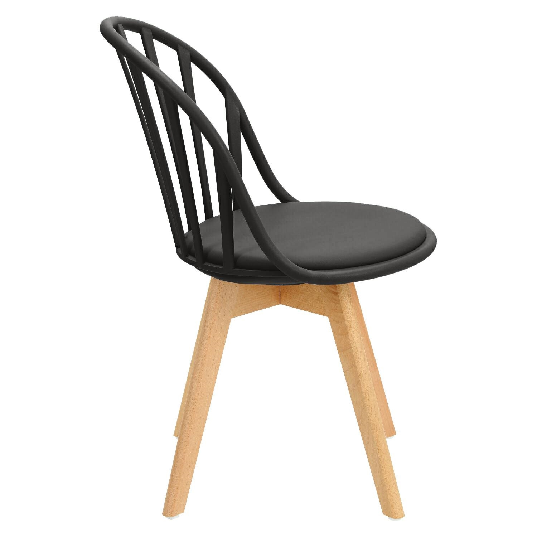 Krzesło Sirena czarne - zdjęcie nr 2