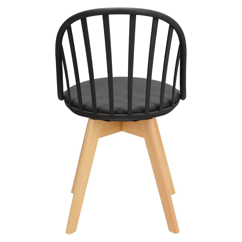Krzesło Sirena czarne - zdjęcie nr 5