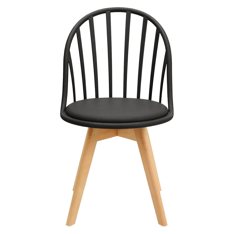 Krzesło Sirena czarne - zdjęcie nr 7