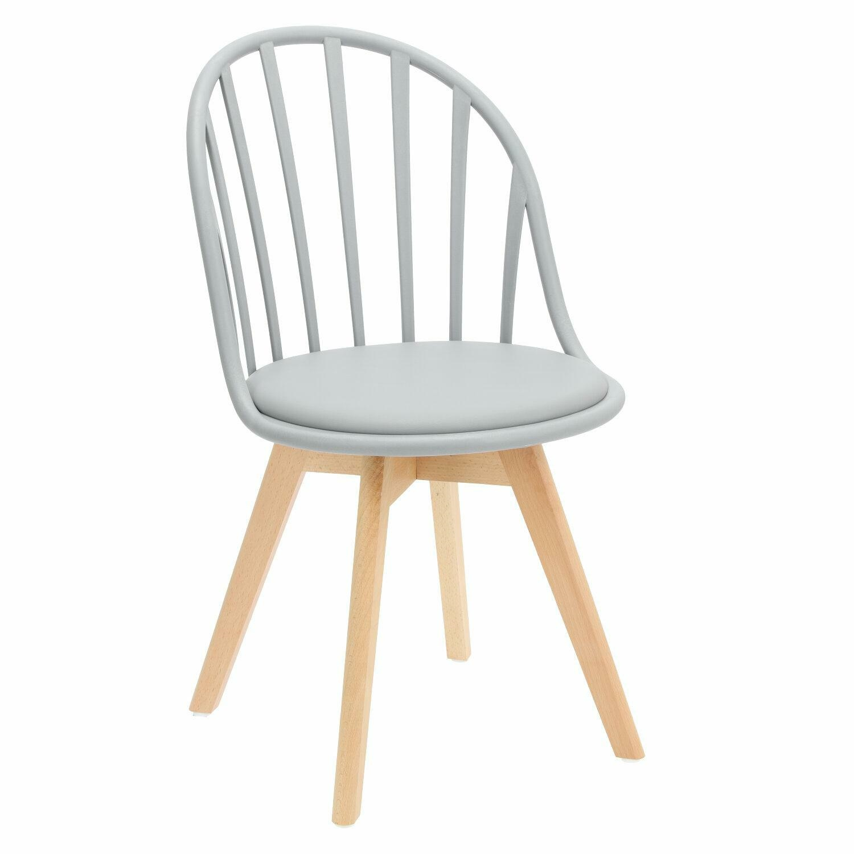 Krzesło Sirena szare - zdjęcie nr 0