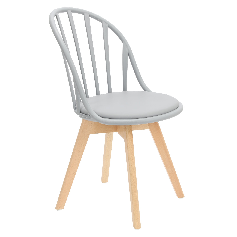 Krzesło Sirena szare - zdjęcie nr 1