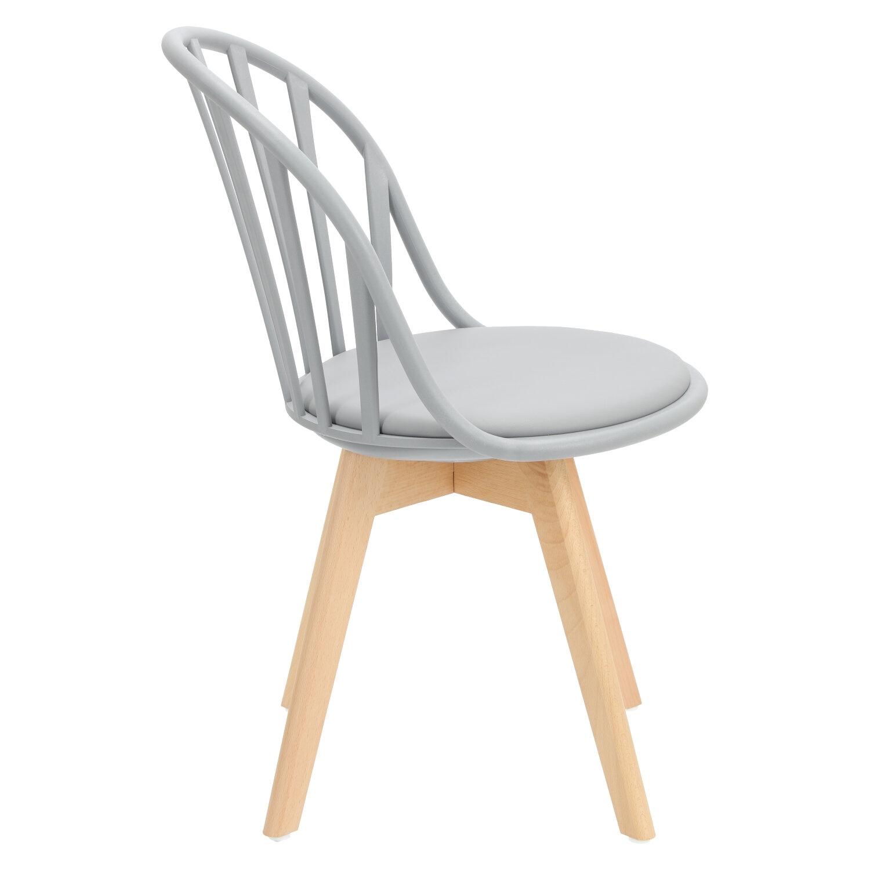 Krzesło Sirena szare - zdjęcie nr 2