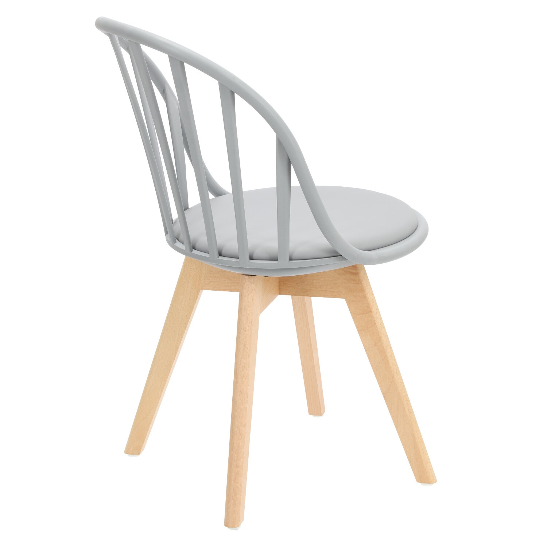 Krzesło Sirena szare - zdjęcie nr 3