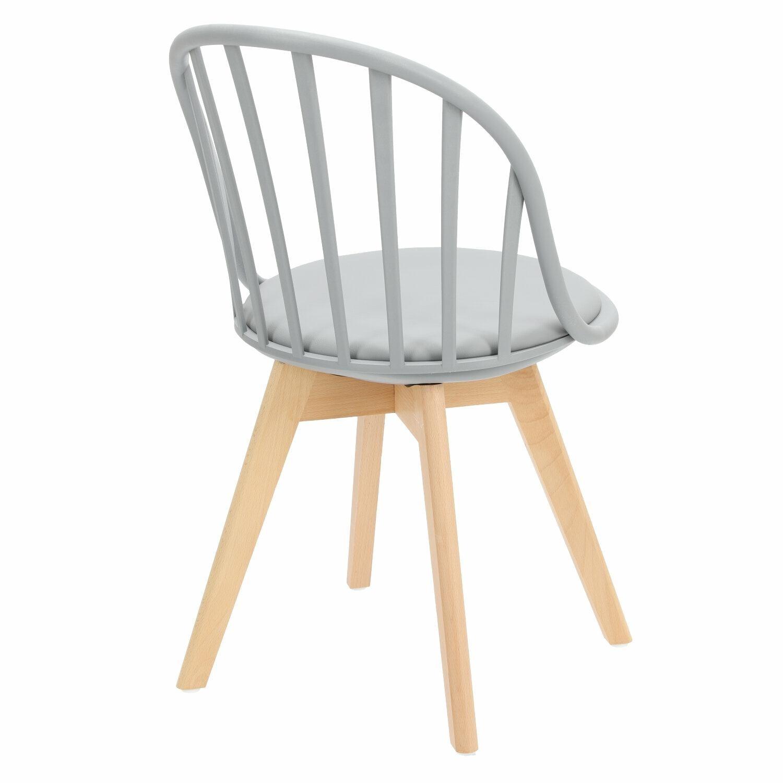Krzesło Sirena szare - zdjęcie nr 4