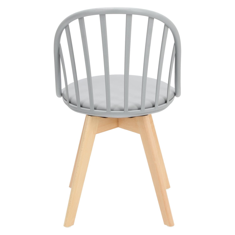 Krzesło Sirena szare - zdjęcie nr 5