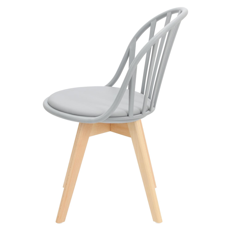 Krzesło Sirena szare - zdjęcie nr 6