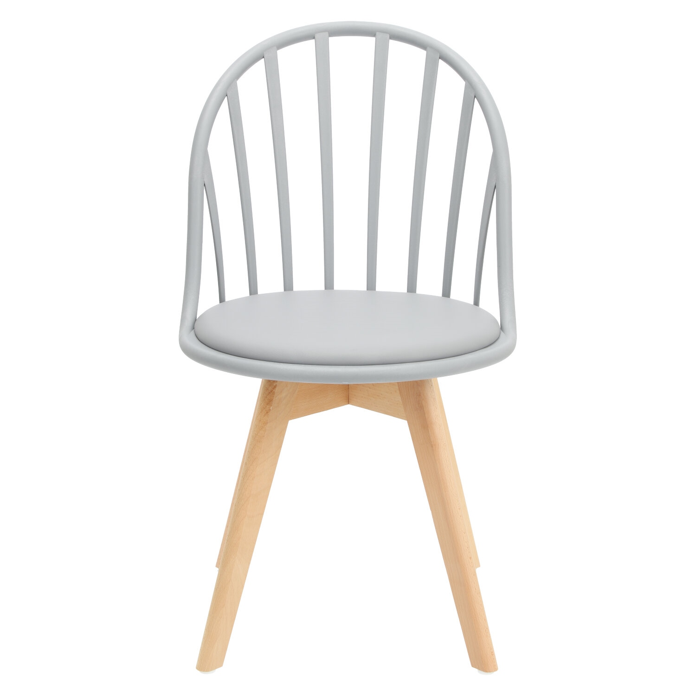 Krzesło Sirena szare - zdjęcie nr 7