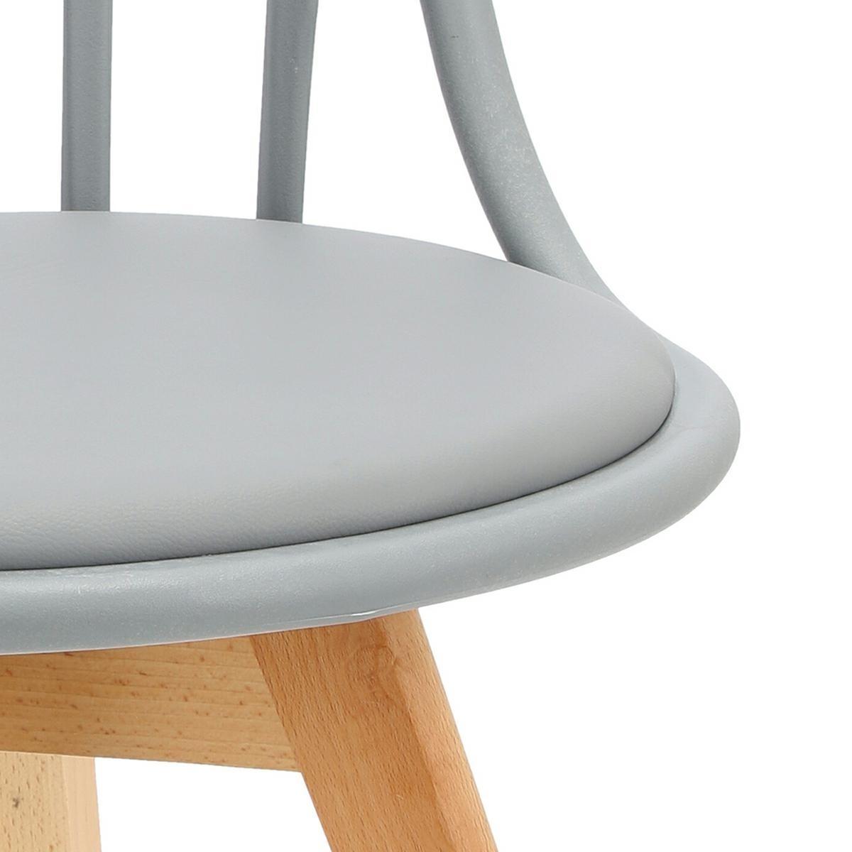 Krzesło Sirena szare - zdjęcie nr 10