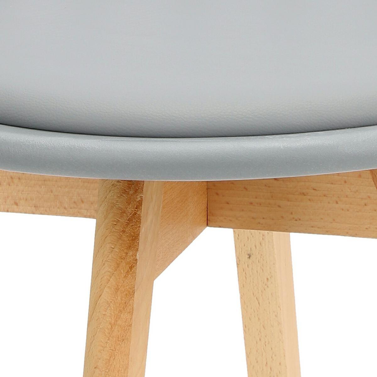 Krzesło Sirena szare - zdjęcie nr 11