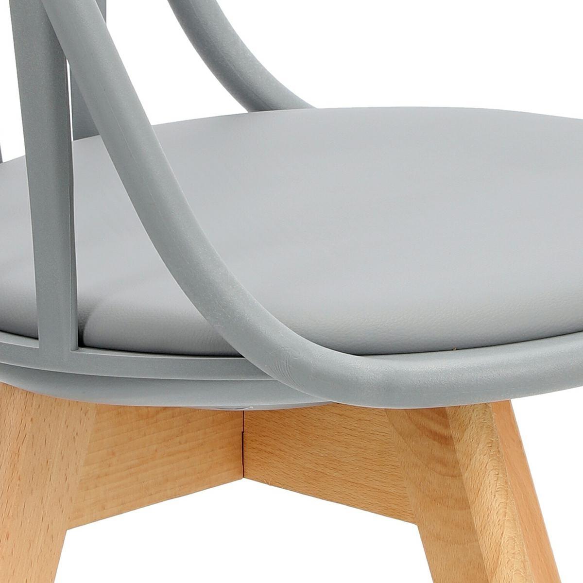 Krzesło Sirena szare - zdjęcie nr 12