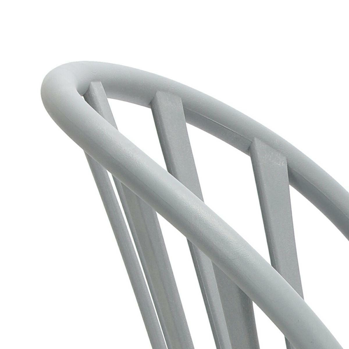 Krzesło Sirena szare - zdjęcie nr 13