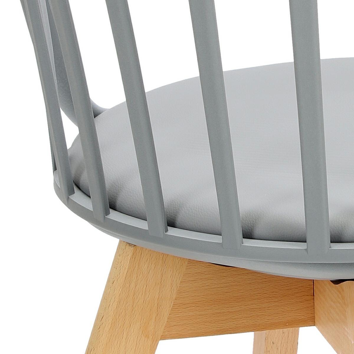 Krzesło Sirena szare - zdjęcie nr 14