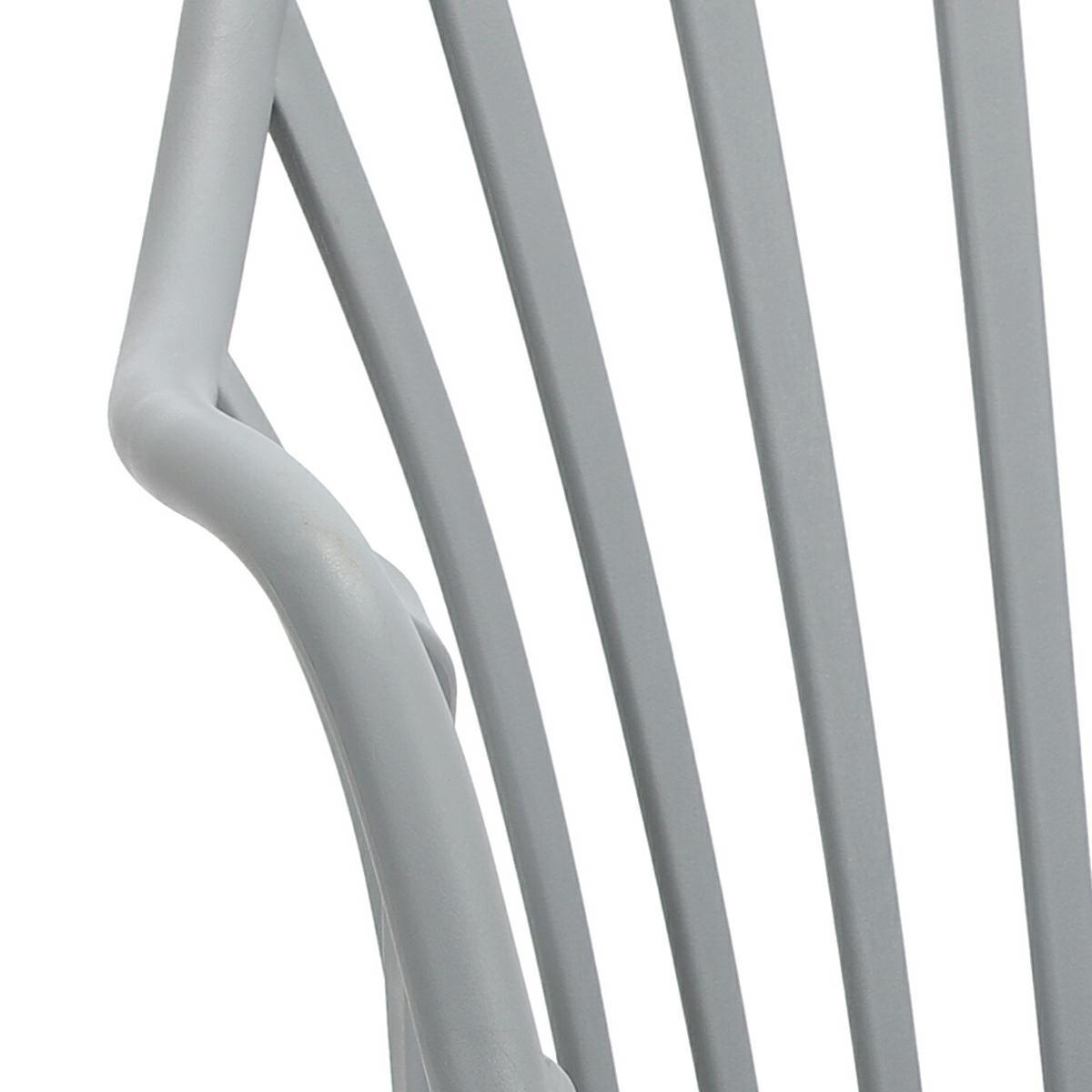 Krzesło Sirena z podłokietnikami szare - zdjęcie nr 15